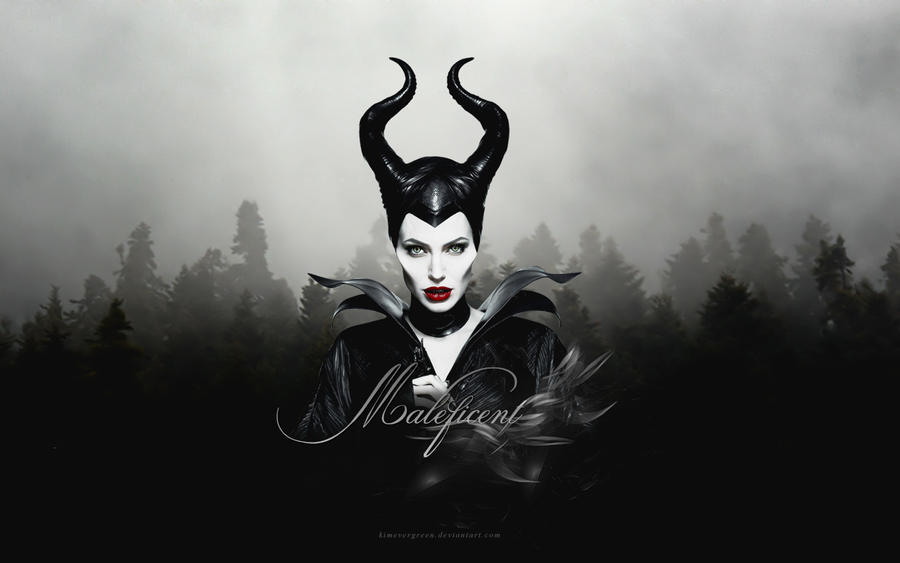 Maleficent Wallpaper by KiMEvergreeN on DeviantArt