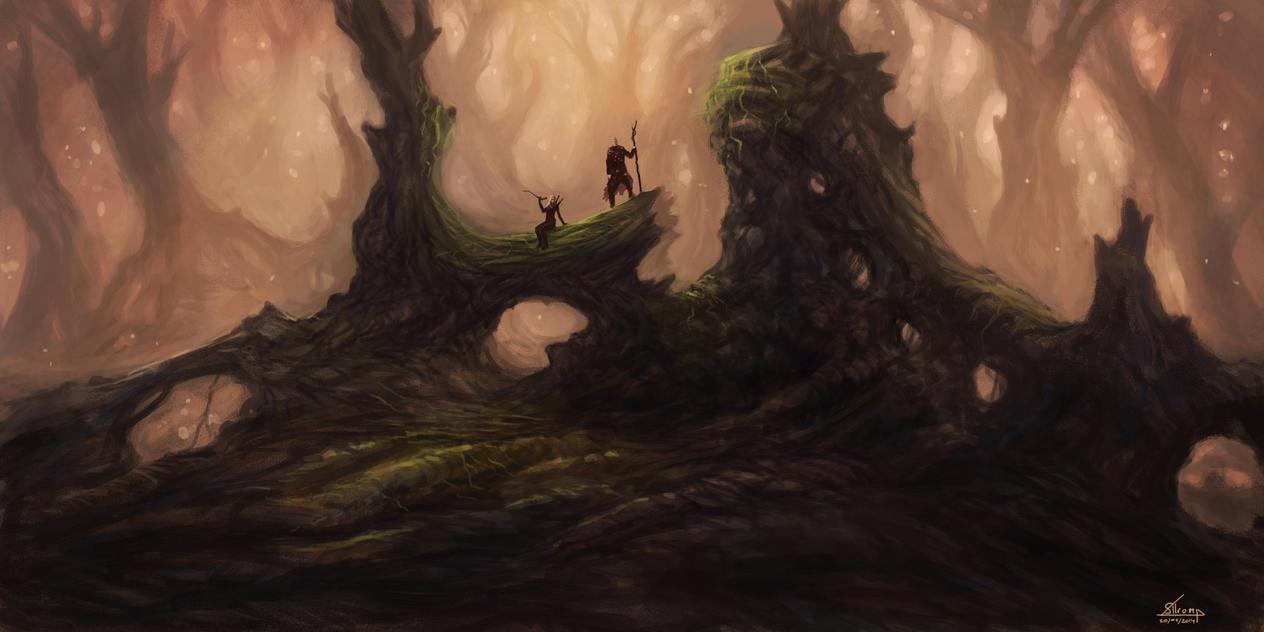 Tiny Pine Woodlands by Melancholeric