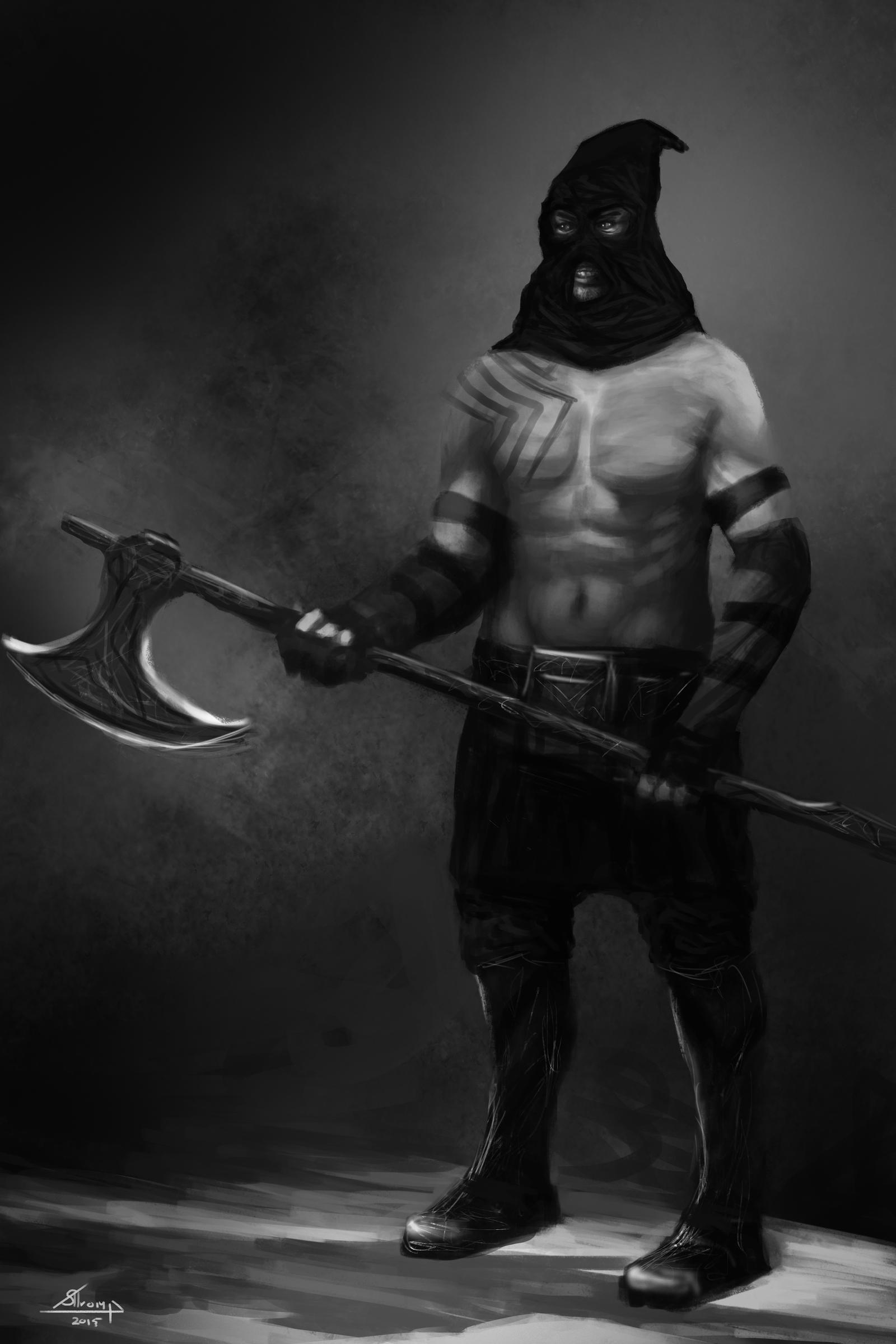 Executioner by Melancholeric on DeviantArt