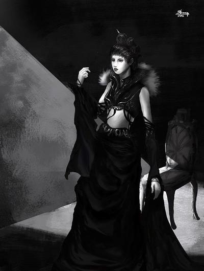 Victorian Vampire by Melancholeric