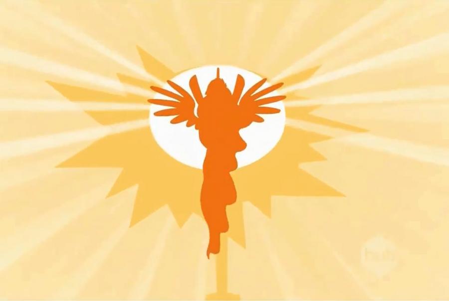 raising the actual sun