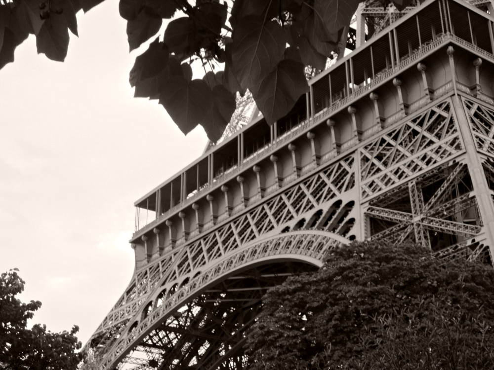 Eiffel Tower Black And White Eiffel Tower Black And White 3