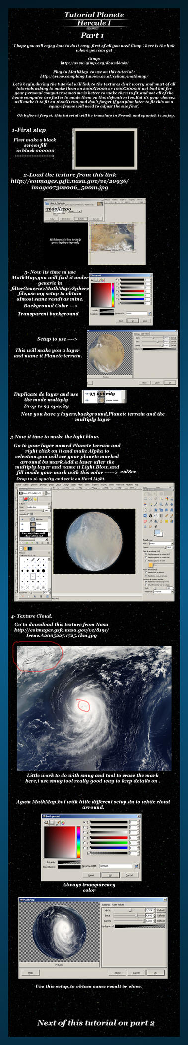 Tutorial gimp Planete Part 1 by FrostBo
