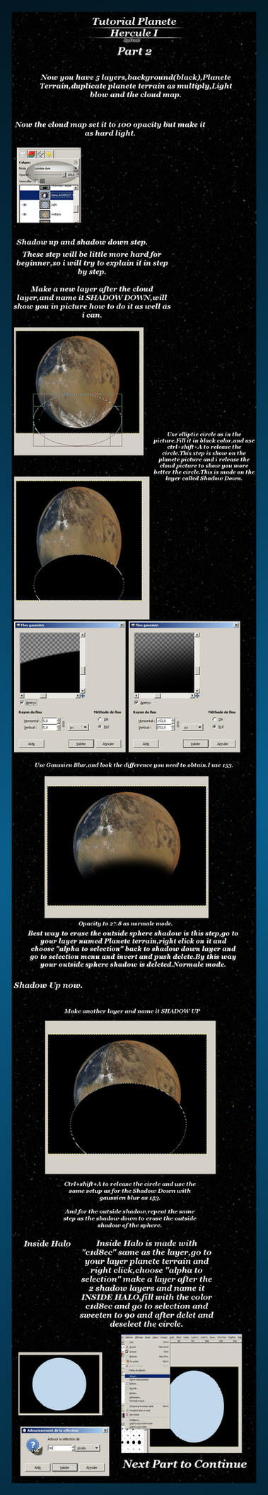 Tutorial gimp Planete Part 2 by FrostBo