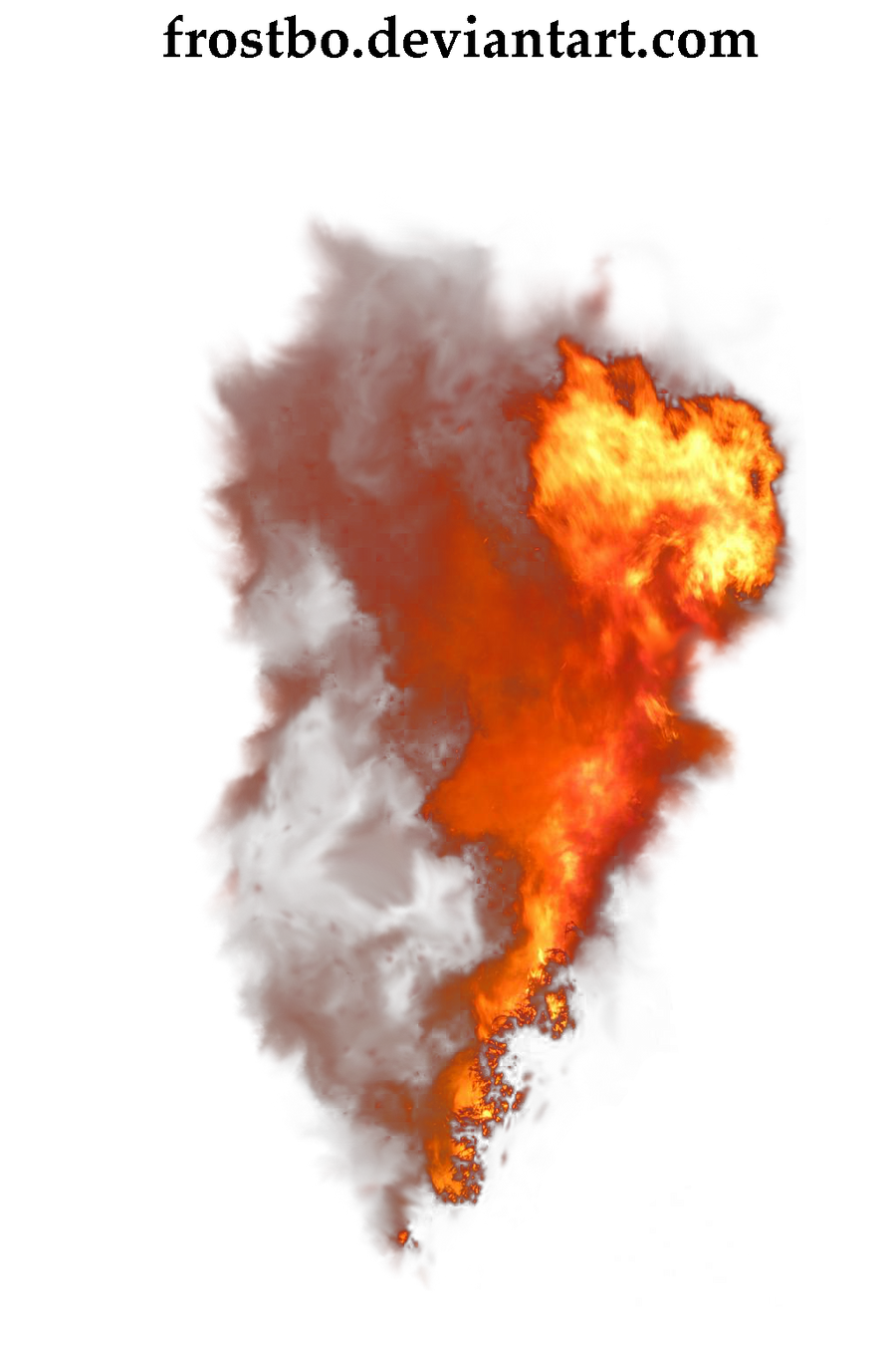 Fire Stock 08 by FrostBo