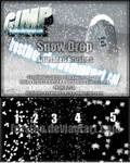 Snow Drop GIMP Animated 2012 SET II