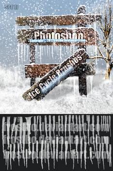 Ice Cycle Brushes Photoshop V.2012 SET II