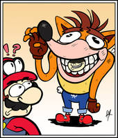 Mario's Worst Nightmare by RayDango