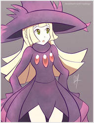 Witch Lillie by RayDango
