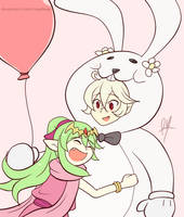 Corrin Bunny by RayDango