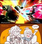 Corrin and Kana plays Smash by RayDango