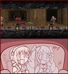 Sakura and Elise Plays DOOM