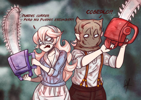 Chainsaw Spirits(commission)