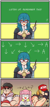 Byleth Says(commission)