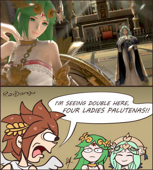 Double green hair.