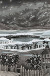 Under the frozen sky by Valentina-Mustajarvi