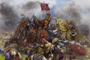 Battle (Adrinopol) by Valentina-Mustajarvi