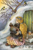 Spring in Hobbiton by Valentina-Mustajarvi
