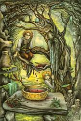 In Fangorn's cave