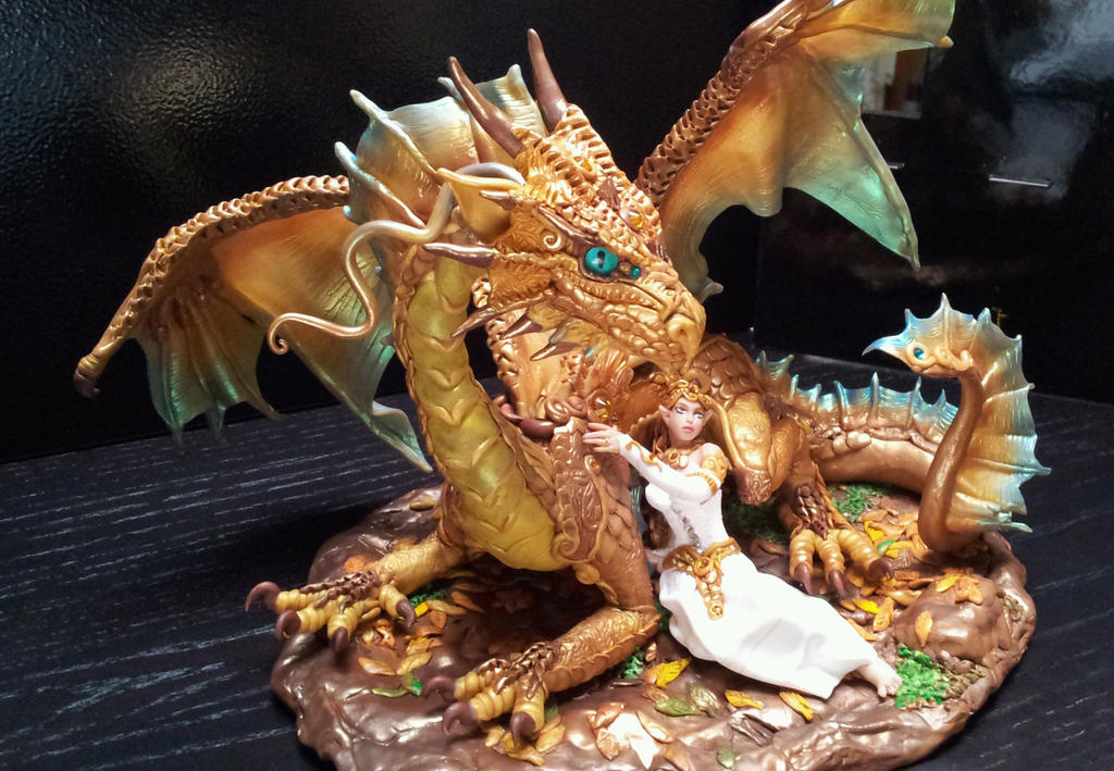 Dragon Cake Topper by AstridMakosla on DeviantArt