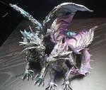 Cake topper Silver Dragons
