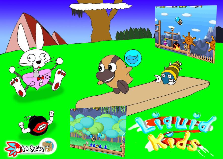 Arcades Games 6:Liquid kids