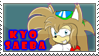 New kyo saeba stamp by DiscoSaeba