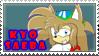 New kyo saeba stamp by DiscoSaeba