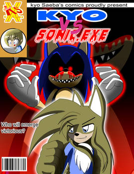 Front cover Comic Kyo vs Sonic