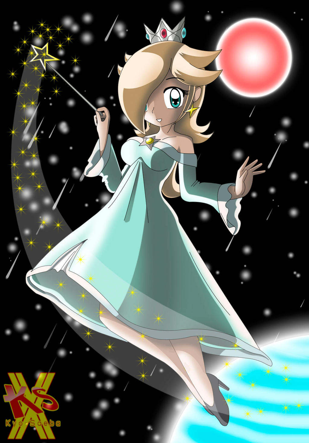Princess Rosalina by MRSaeba-San