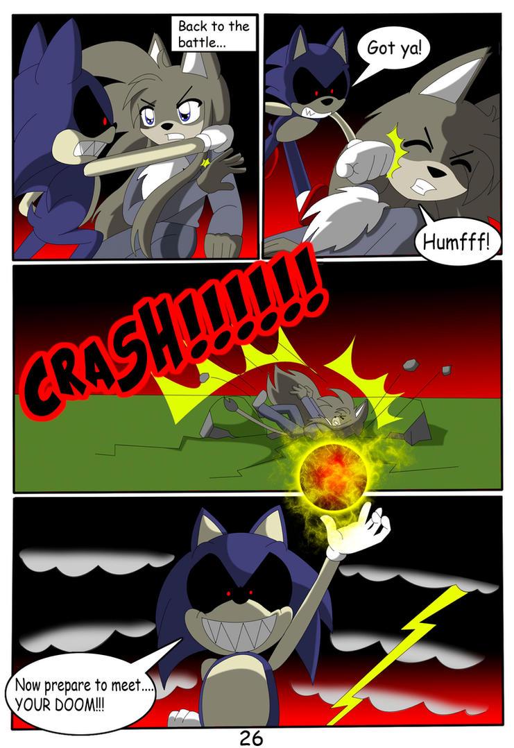 Sonic exe cartoon