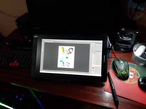 I present to you my new drawing tablet