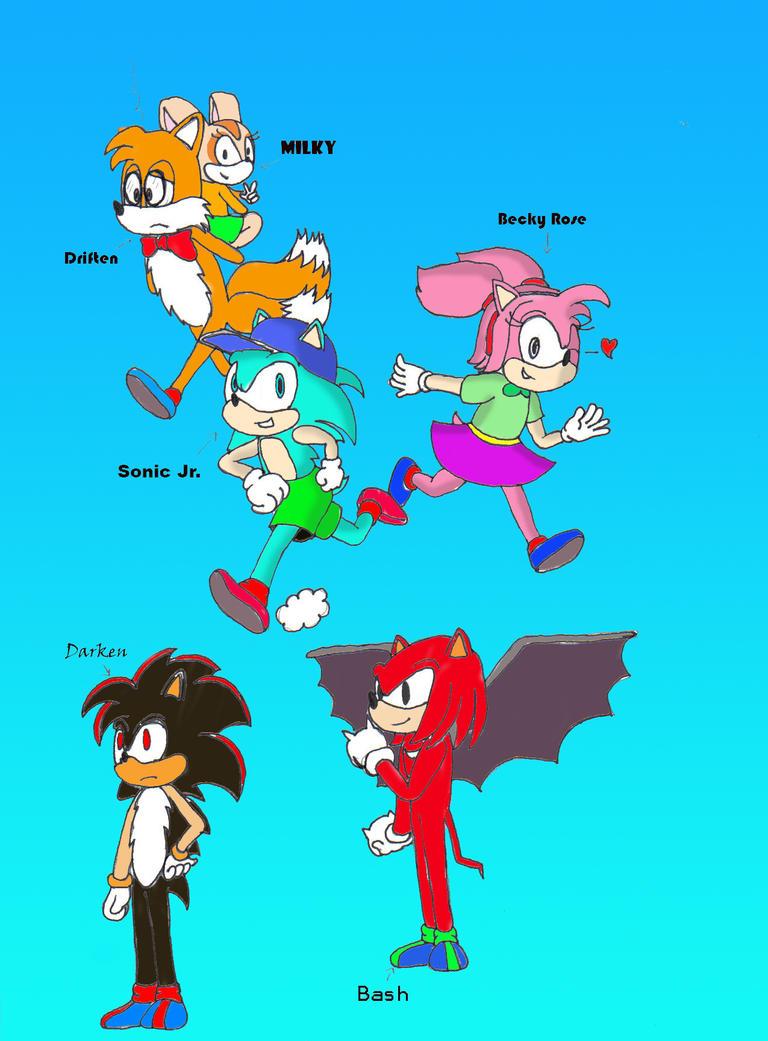 Sonic, Jr.'s Ski Race Page 1 by EmperorNortonII on DeviantArt