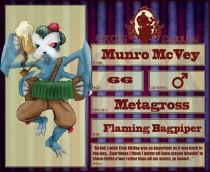 Circus Darkrai - Munro McVey by mightycucumber