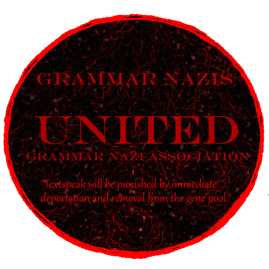 Grammar nazi symbol by skyscorcher on deviantart grammar nazi symbol by skyscorcher biocorpaavc Gallery