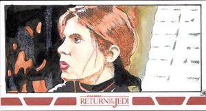 Star Wars ROTJ sketch card 01
