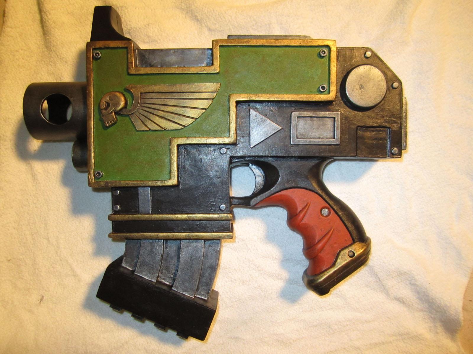 Replica Bolt Pistol 2 by Renquist-von-Reik