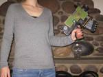 Replica Bolt Pistol - Modeled