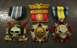 Imperial Guard Medals - Colored