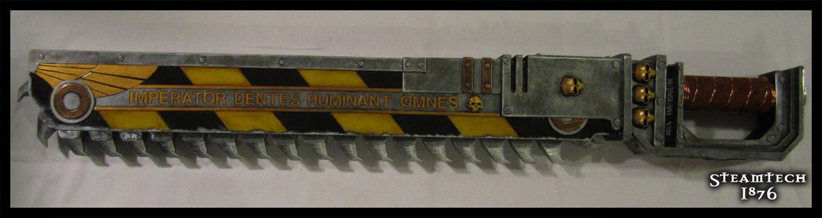 Warhammer 40k Chainsword Replica by Renquist-von-Reik