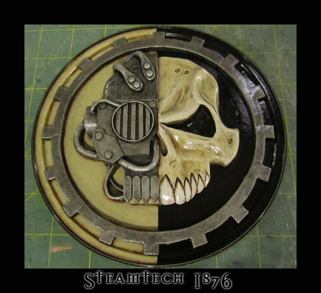 Warhammer 40k Mechanicus Icon by Renquist-von-Reik