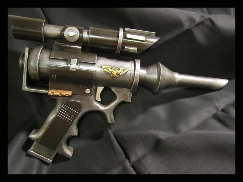 Galvian Needler Pistol - Warhammer 40k Prop by Renquist-von-Reik