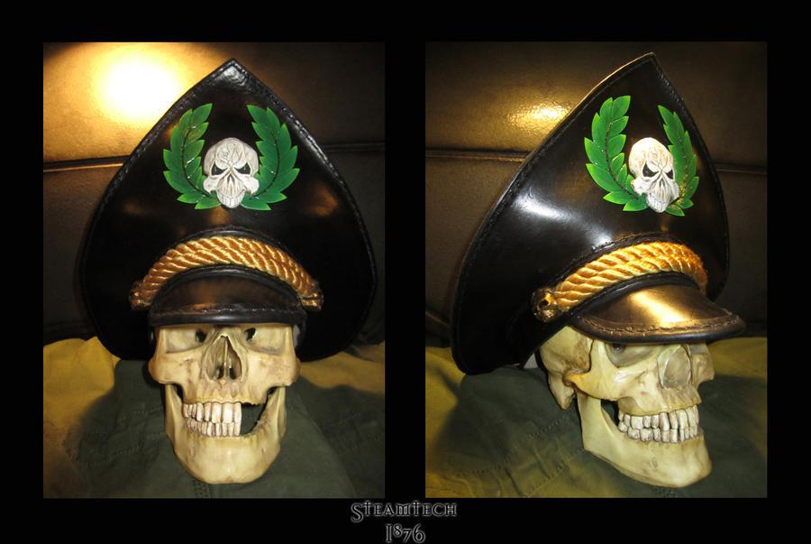 Leather Commissar Hat - Warhammer 40k by Renquist-von-Reik