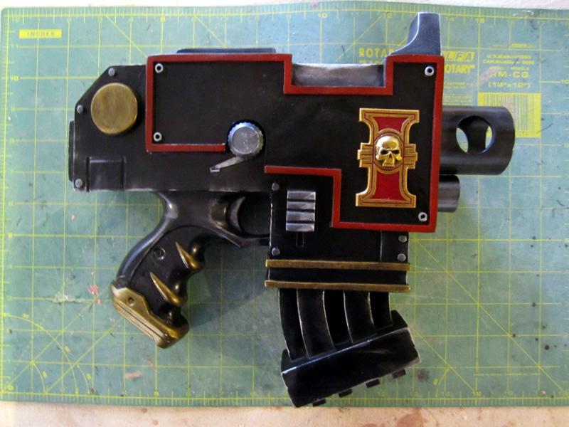 Inquisition Bolt Pistol by Renquist-von-Reik