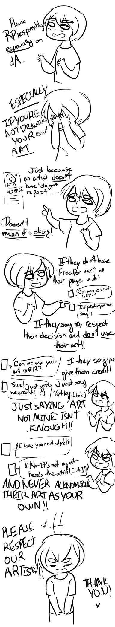 PSA about RPing on dA (OR ANYWHERE, REALLY) by HanabiChanx3