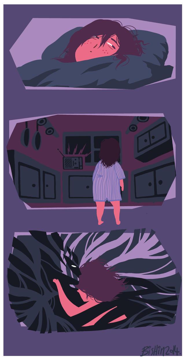Dream log by Bishyn