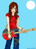guitar girl by reginafeby