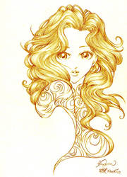 ...Curl... by reginafeby
