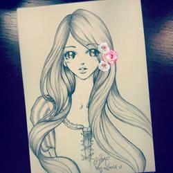 Rapunzel by reginafeby