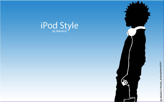 iPod style wallpaper
